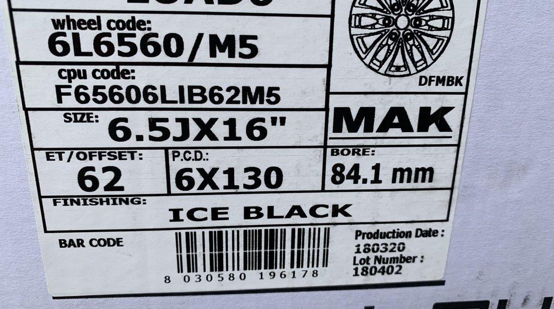"""Vând jante aliaj marca Mak-Italia pentru Mercedes sprinter pe 16"""""""