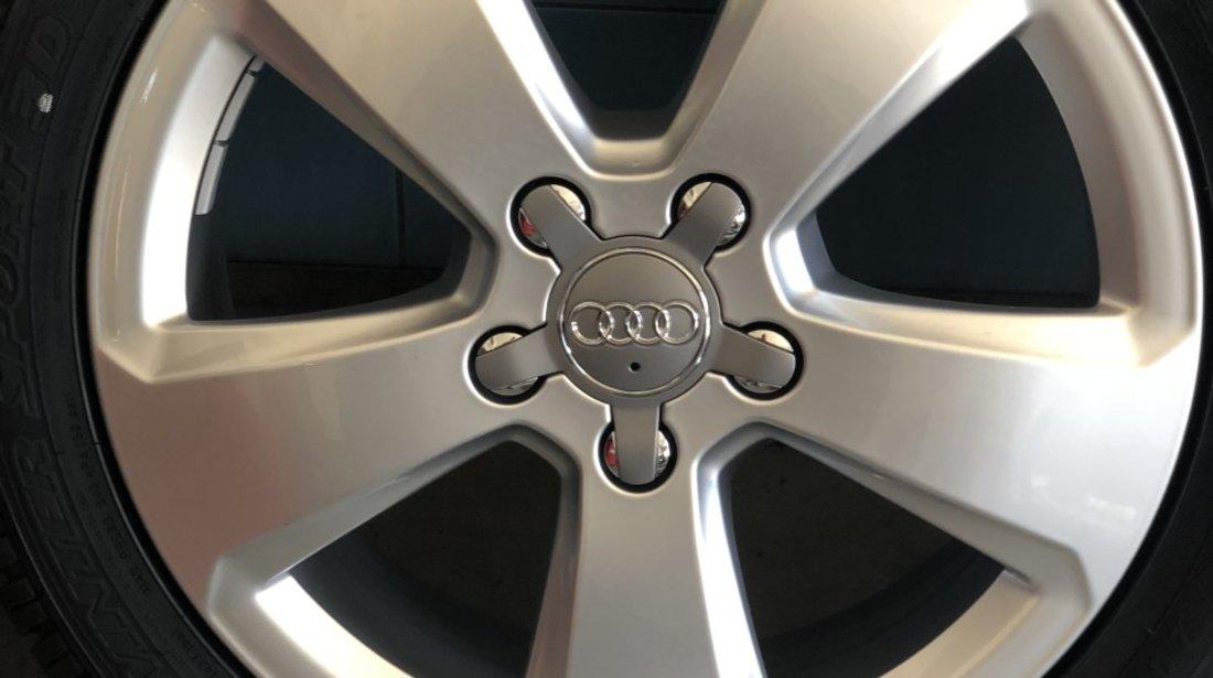 """Vând jante Audi A3,A2 originale noi pe 17"""" cu anvelope noi"""