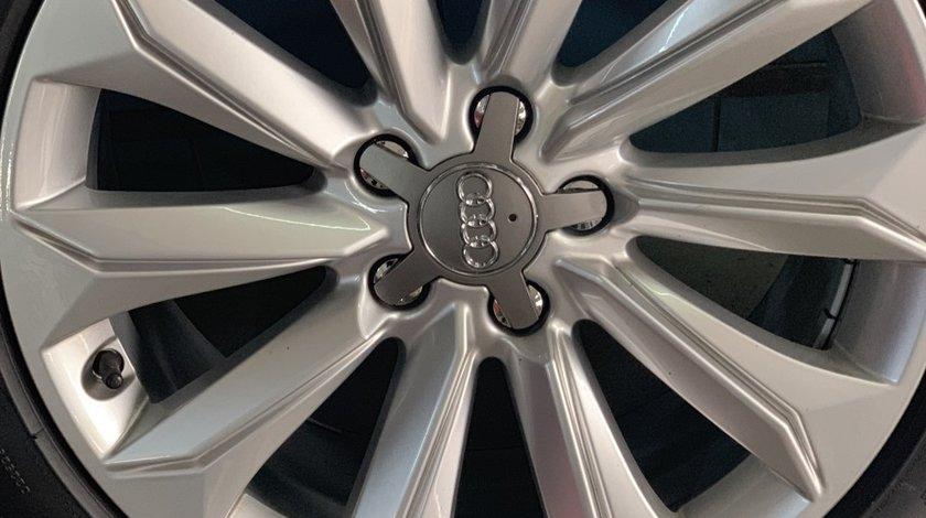 """Vând jante originale Audi A4 noi pe 18"""" cu anvelope ca noi"""