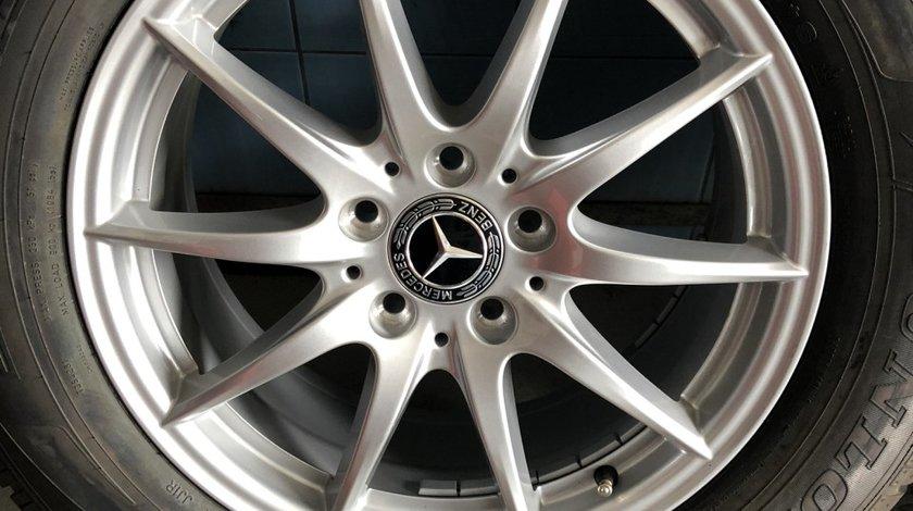 """Vând jante originale Mercedes ML pe 17"""" noi cu anvelope noi"""