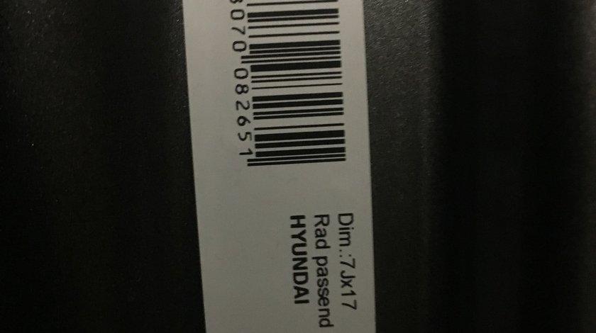 "Vând jante tablă Hyundai Santa Fe 5x114,3-67 pe 17"""