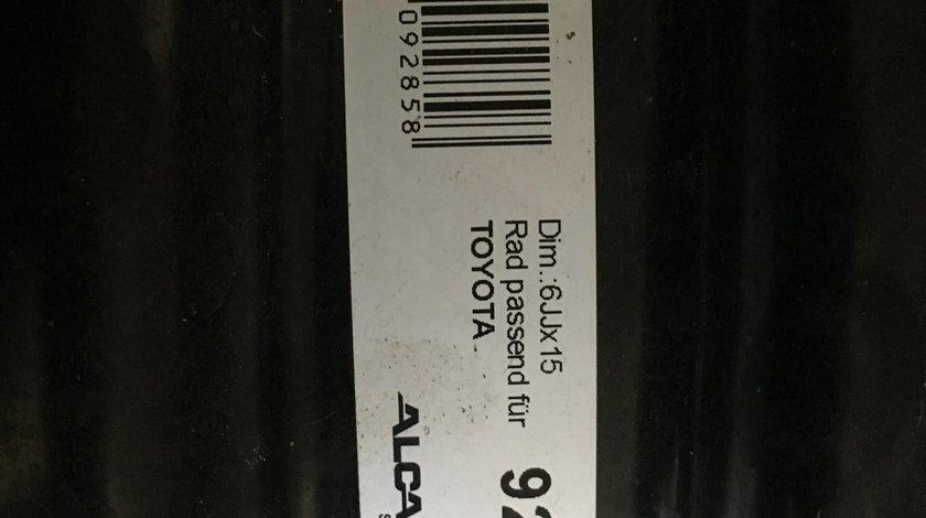 Vând jante tablă Toyota 4x100-54