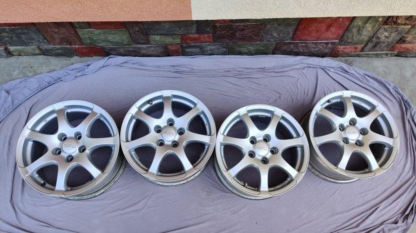 Vând set 4 jante aliaj Anzio Light 5x110 R16 - Opel, Alfa, Fiat, Saab