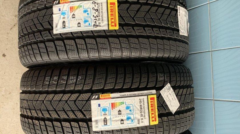 Vând set anvelope 245/40/20-275/35/20 Pirelli runflat de iarnă noi