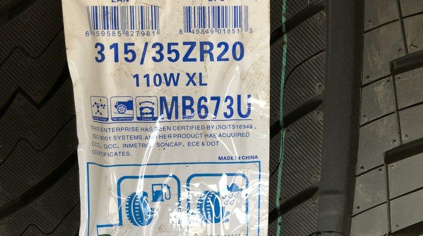 Vând set anvelope 275/40/20-315/35/20 maxtrek de vară noi