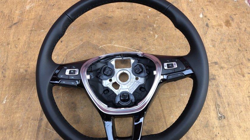 Vând volan piele/comenzi/padele VW Polo VW Touran VW Jetta