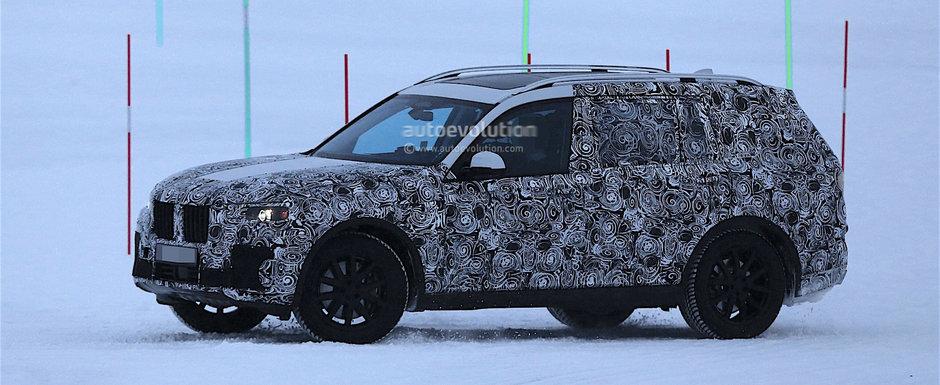 Va fi cel mai mare SUV din gama BMW. Uite cum suna el