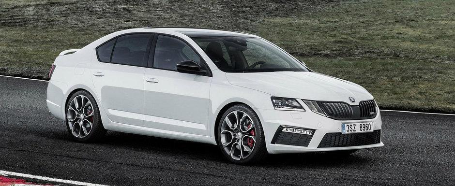 Va fi cu motor diesel sau pe benzina? Noua Octavia RS s-a lansat si in Romania, la aceste preturi