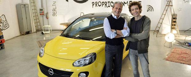 Valentino Rossi, imaginea noului Opel Adam