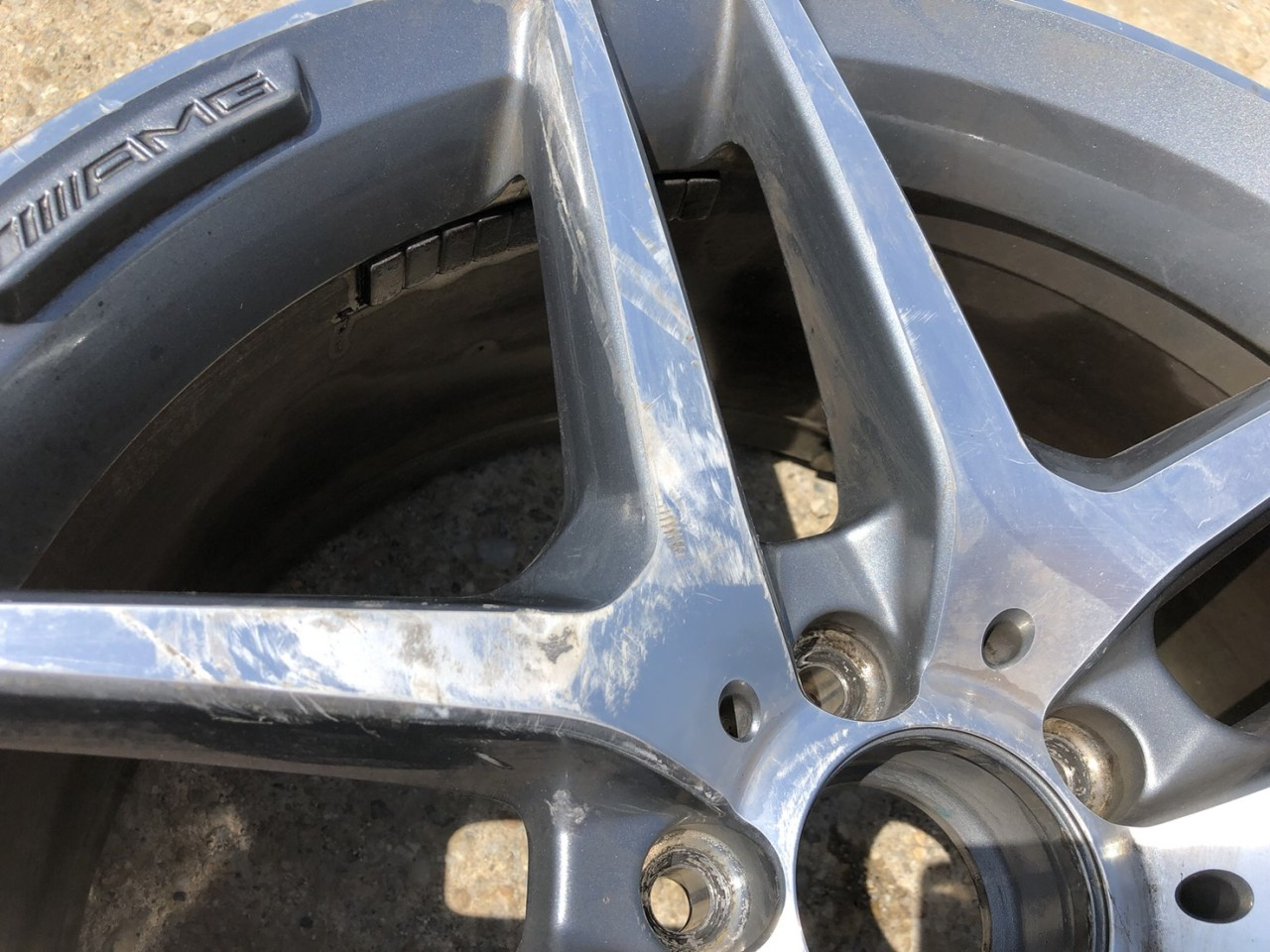 Vand 1 bucata janta aliaj AMG  R19 Mercedes W222 A2224010100