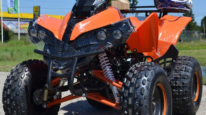 VAND: ATV NOU Nitro Pro Street Warrior 125cc , Casca Bonus, Import Germania