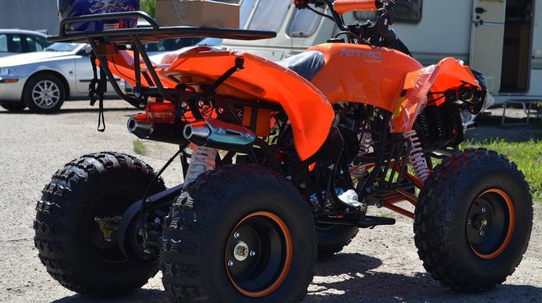 VAND: ATV NOU Nitro Pro Street Warrior 125cc , Casca Bonus, Import Germania