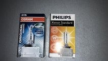 Vand bec xenon D1S Philips si Osram