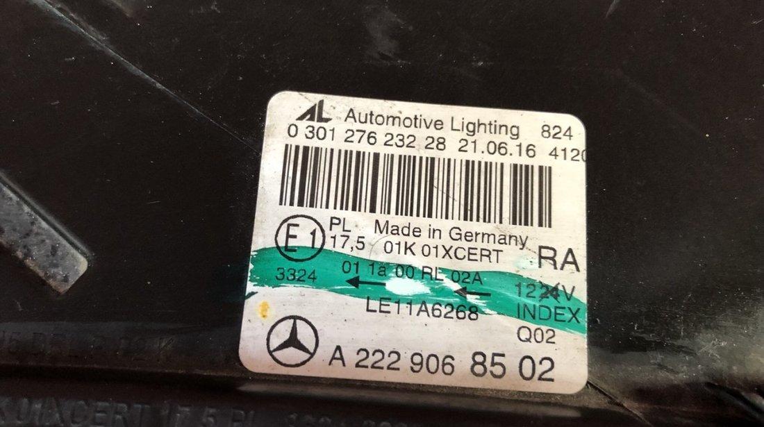 Vand far full led dreapta Mercedes S class W222