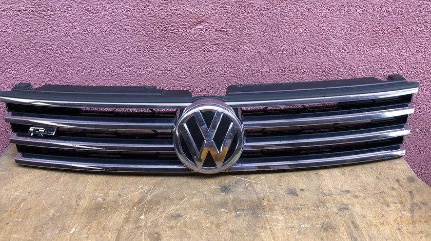 Vand grila fata RLine VW Touareg 7P facelift 2015 2018