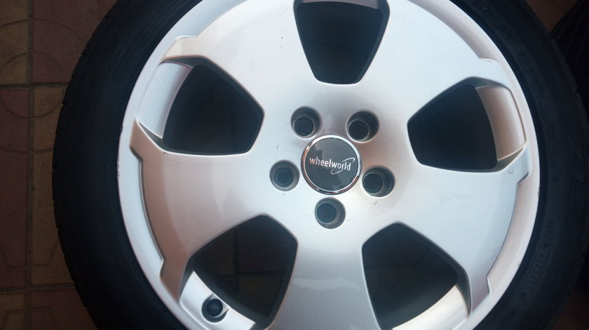 VAND JANTE ALIAJ DE 15 INCH 5X112 PT AUDI VW SEAT SKODA ORIGINALE