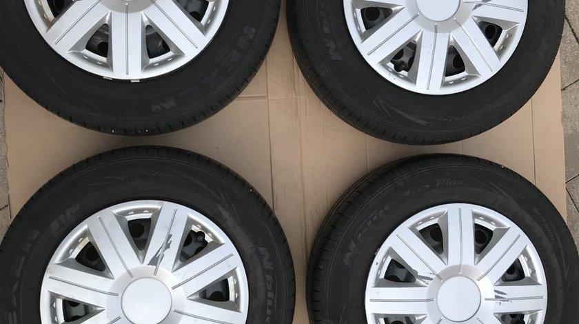 "Vand Jante De Tabla 14""4x100+Cauc.Vara 175-70-14'' Ptr.Opel Astra,Corsa,Meriva,Combo"