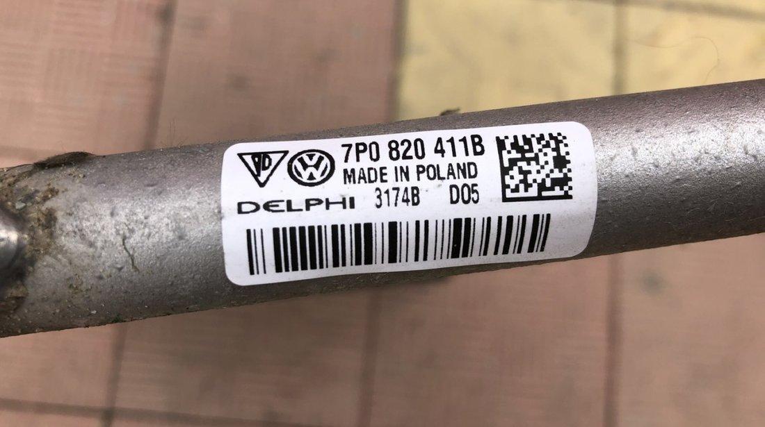 Vand radiator apa clima conducta servo Porsche Cayenne VW Touareg 7P