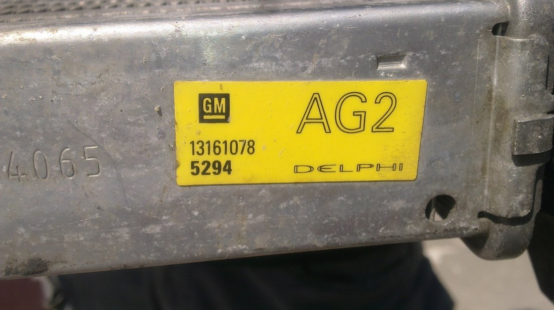 Vand radiator intercooler Opel Astra H Zafira B