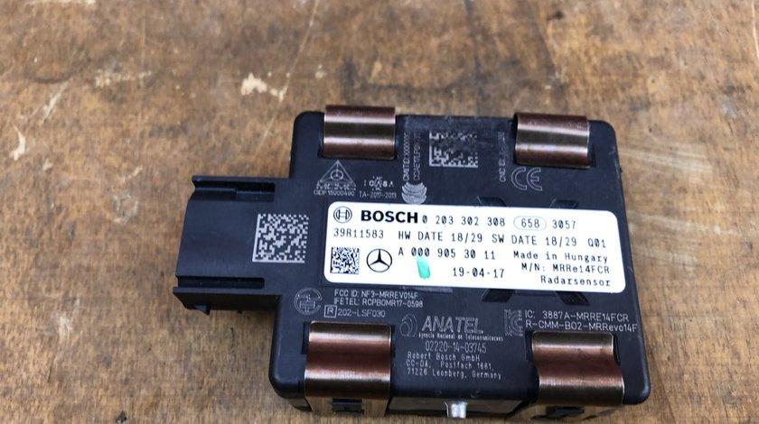 Vand senzor radar Mercedes W205 A0009053011