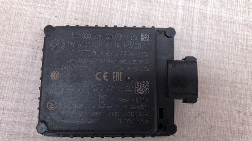 Vand senzor radar Mercedes W213 W205 W257 A0009058909