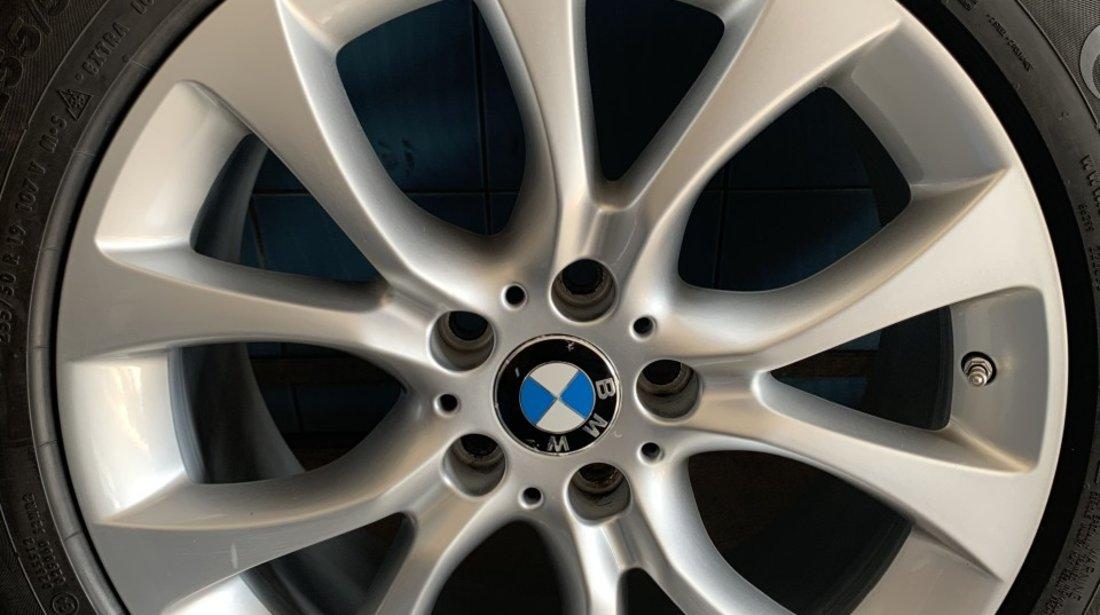 VAND SET JANTE ORIGINALE BMW X5-X6 PE 19'' CU ANVELOPE DE IARNA