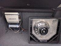 Vand sistem audio - subwoofer, statie, condensator + kit cabluri 400w RMS / 800w Max.