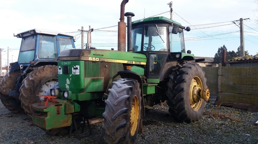 Vand tractor John Deere 4650 1988 4x4 cu MOTOR DEFECT