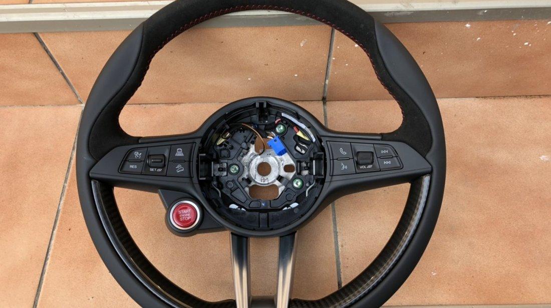 Vand volan carbon/comenzi/piele Alfa Romeo Stelvio Alfa Romeo Giulia