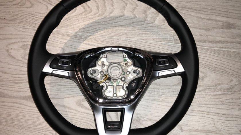 Vand volan tesit piele comenzi padele VW Touareg RLine 2018 Tiguan Golf 7 Passat