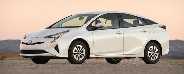 Vanzarile de masini eco au crescut cu 113,6% in prima parte a anului 2016. Toyota este cea mai cautata marca
