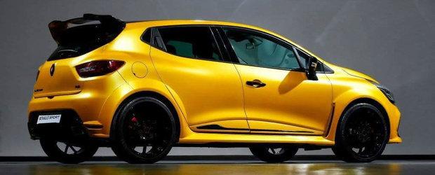 Varianta hardcore a lui Clio RS, dezvaluita inainte de prezentarea oficiala. Curios cum arata noul hot hatch?