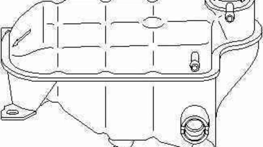 Vas expansiune lichid racire MERCEDES-BENZ limuzina W124 TOPRAN 400 889