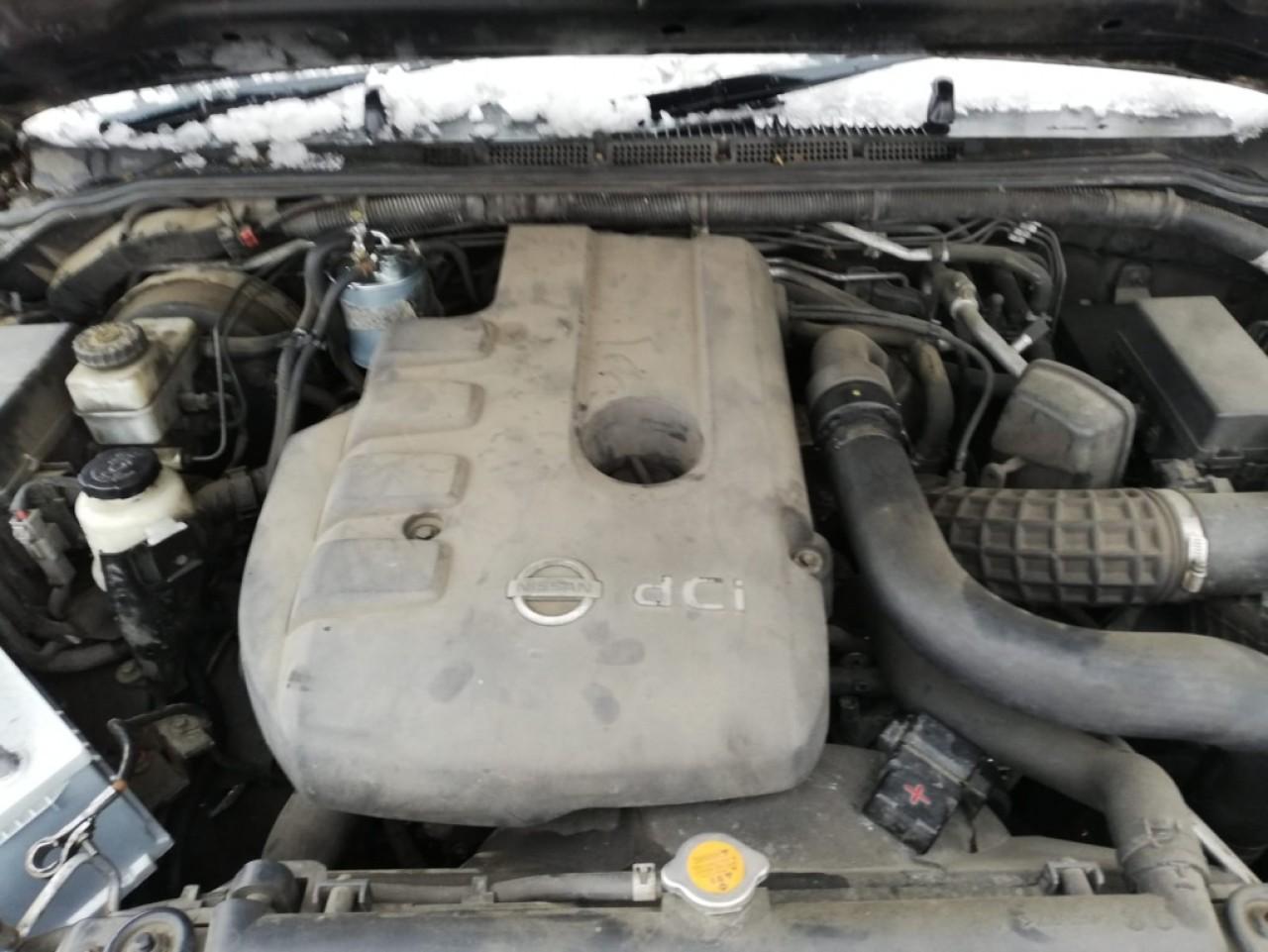 Vas lichid parbriz Nissan NAVARA 2006 Pick-up 2.5DCI