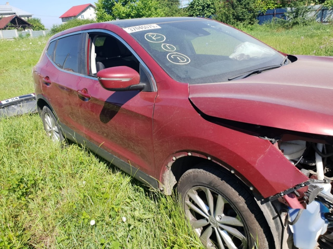 Vas lichid parbriz Nissan Qashqai 2014 SUV 1.5dci 1.5 dci