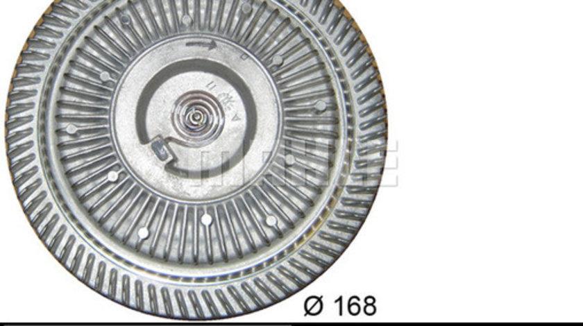 Vascocuplaj ventilator radiator LAND ROVER DEFENDER, DISCOVERY I, RANGE ROVER I 2.4D 2.5D intre 1986-2001