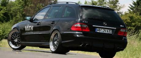 Vath a modificat modelul Mercedes E63 AMG Estate