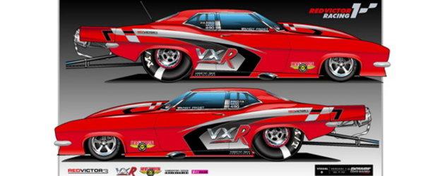 Vauxhall Victor FD - Un dragster numai bun de 3.000 cai putere!