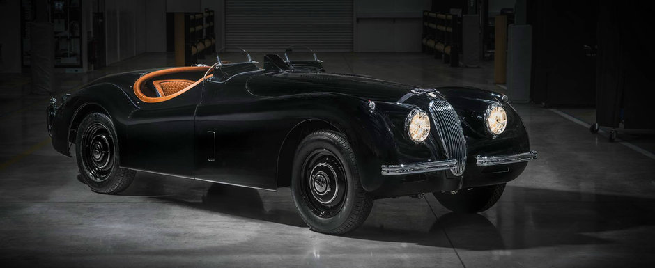 Vechea masina i-a fost restaurata complet de Jaguar. Totul a durat 11 luni si 2700 de ore de munca