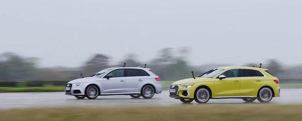 Vechiul Audi S3 versus noul S3. Uite de ce merita sa dai mai multi bani pe cel din urma