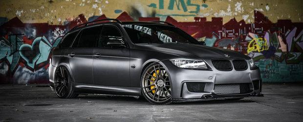 Vei avea parte de o mare surpriza cand ai sa vezi ce se ascunde sub capota acestui BMW de 'familie'