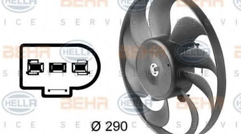 Ventilator,aer conditionat SEAT IBIZA IV (6L1) (2002 - 2009) HELLA 8EW 009 144-601 produs NOU