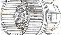 Ventilator aeroterma interior habitaclu AUDI A4 8K...