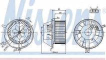Ventilator aeroterma interior habitaclu VW GOLF VI...