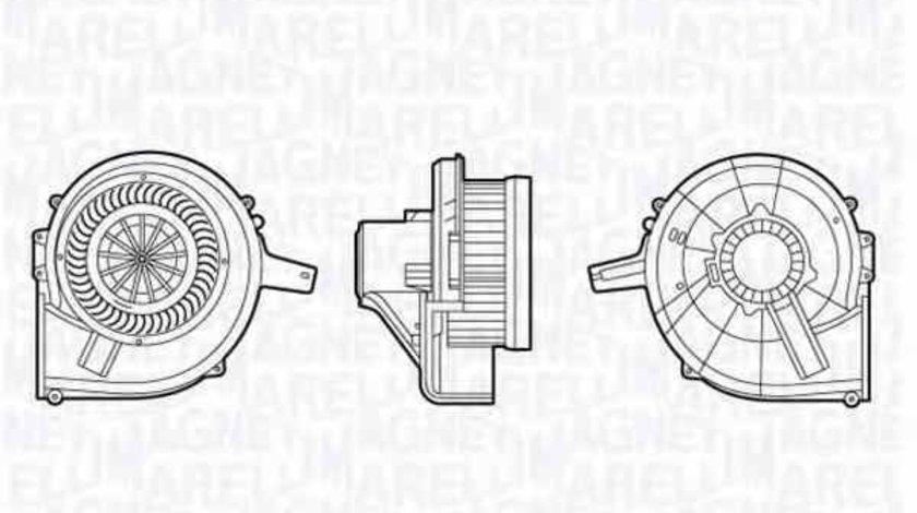 Ventilator aeroterma interior habitaclu VW POLO 9N MAGNETI MARELLI 069412665010