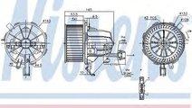 Ventilator, habitaclu AUDI A4 Allroad (8KH, B8) (2...