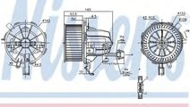 Ventilator, habitaclu AUDI A4 Avant (8K5, B8) (200...
