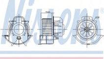 Ventilator, habitaclu AUDI Q7 (4L) (2006 - 2015) N...