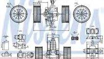 Ventilator, habitaclu BMW Seria 5 Touring (E61) (2...