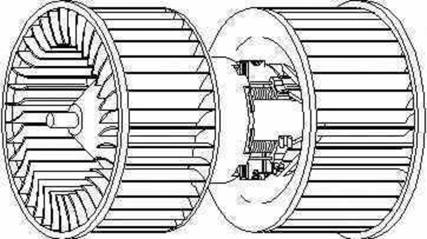 ventilator habitaclu interior BMW 3 Cabriolet E36 TOPRAN 501 333